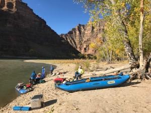 Organizing for river time. David Lovejoy photo.